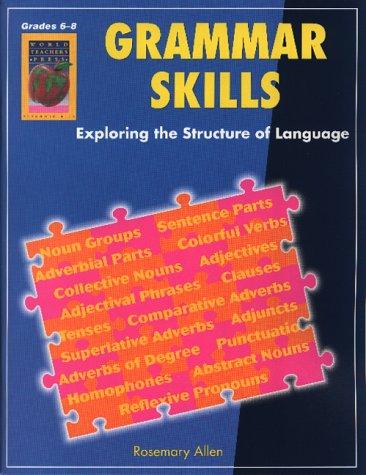 Amazon.com: Grammar Skills, Grades 6-8 (9781583240533): Rosemary ...