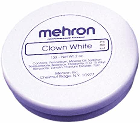 Mehron Clown White 2.25 Ounce