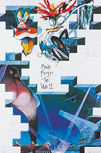 amazon com pink floyd s the wall music movie poster print