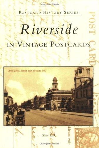 Downtown Street Postcard - Riverside in Vintage Postcards (CA)  (Postcard History Series)