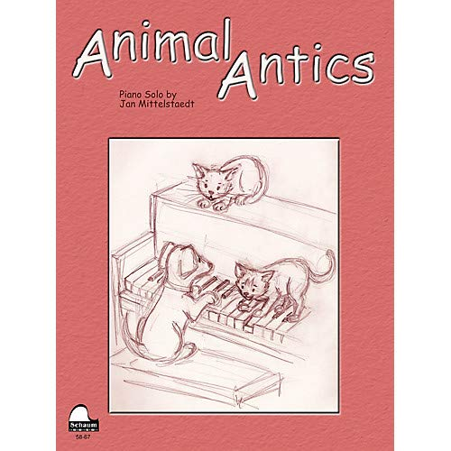 Animal Antics Educational Piano Series Softcover, Pack of 3