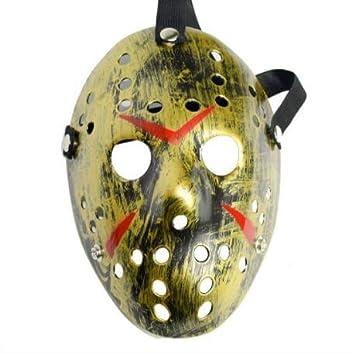 Dream Loom Jason Máscara, Traje de Halloween Cosplay Party Mask Prop, Masquerade Mask Adult