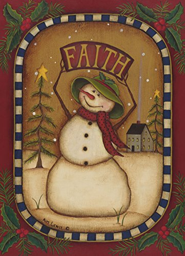 Faith Snowman, 20-Count