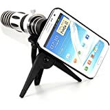 Apexel 5X-15X Zoom Optical Telephoto Telescope Camera Lens with Tripod & Hard Cover for Samsung Galaxy Note 2 N7100