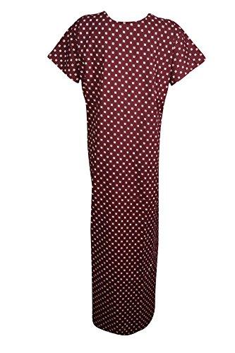 Rot kastanienbraun Kastanienbraun Modern Mogul Damen Kleid Interior L IXOKpq1w
