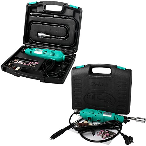 Pro'sKit PT-5501I Variable Speed Rotary Tool Kit (230V) for Cutting Sanding Polishing Drilling Mini Grinder Grinding Machine by Tpmall (Image #8)