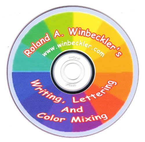 Writing, Lettering And Color Mixing--Cake Decorating DVD