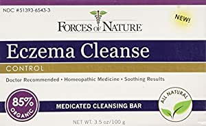 Forces of Nature Organic Eczema Cleanse, 3.5 Ounce