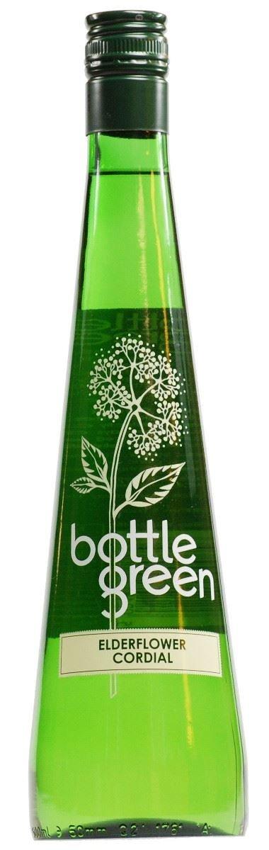 Bottle Green Elderflower Cordial 500ml (Pack of 12) by BOTTLE GREEN DRINKS CO