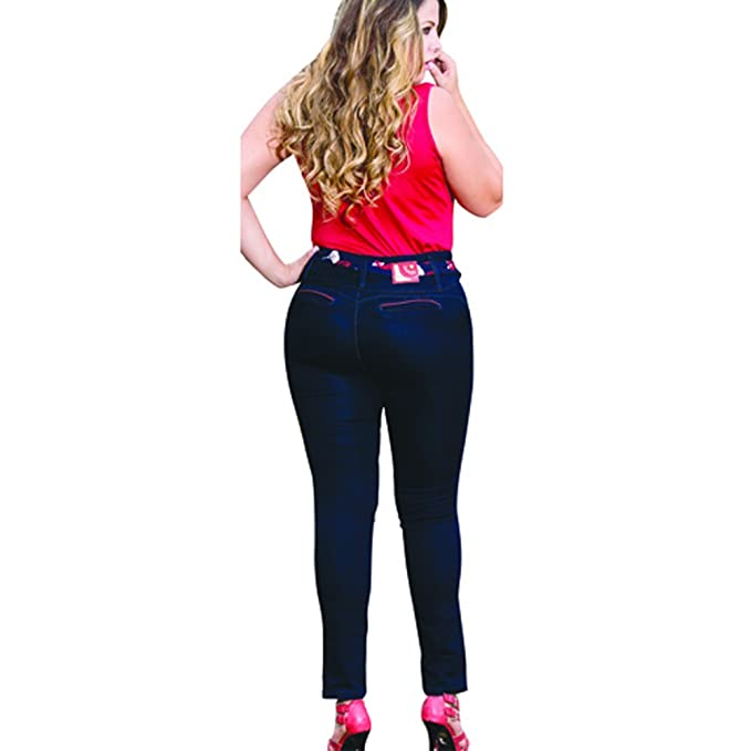 Butt Lifting Jeans Plus Colombian Pantalones Colombianos ...