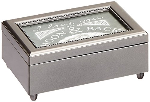 Carson Home Accents Moon & Back Music Box by Carson