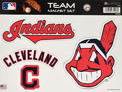 Rico MLB Cleveland Indians Team Magnet Set, Team Logo