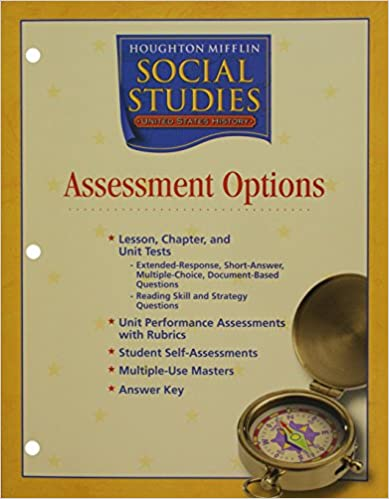 Houghton Mifflin Social Studies Assessment