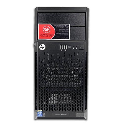 Newest 2015 HP Proliant ML10 Tower Desktop [No OS] or Server Barebones DIY Computer PC with i3-4150 3.5GHz, 16GB
