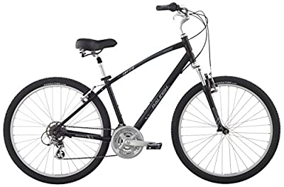 "Raleigh Bikes Venture 3.0 Comfort Bike, 15"" /Sm, Black, 15"" / Small"