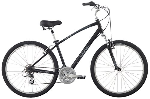 "Raleigh Bikes Venture 4.0 Comfort Bike, 19"" /Lg, Black, 19"" / Large"