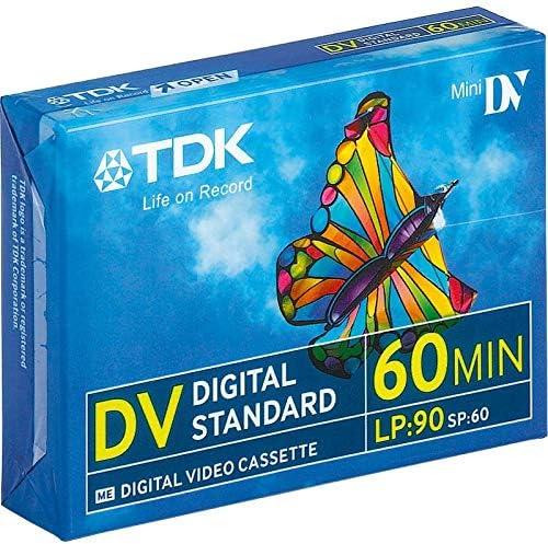 Tdk Dvm 60 Dv Mini Digital Video Elektronik