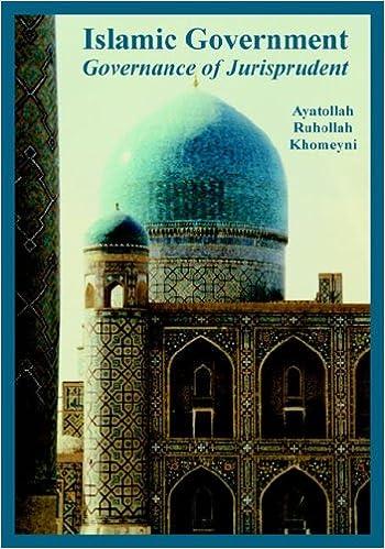 Islamic government governance of jurisprudent ayatollah islamic government governance of jurisprudent ayatollah ruhollah khomeyni 9781410224927 amazon books sciox Choice Image