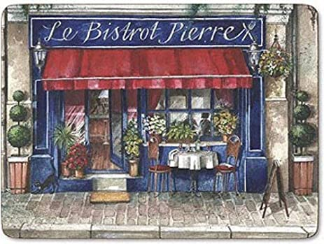 Amazon.com: Pimpernel Cafe De Paris Placemats Ds Set(s) Of 4: Home ...
