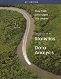 Intro to Statistics & Data Analysis AP Edition, Roxy Peck, Chris Olsen, Jay L. DeVore, 1439047499