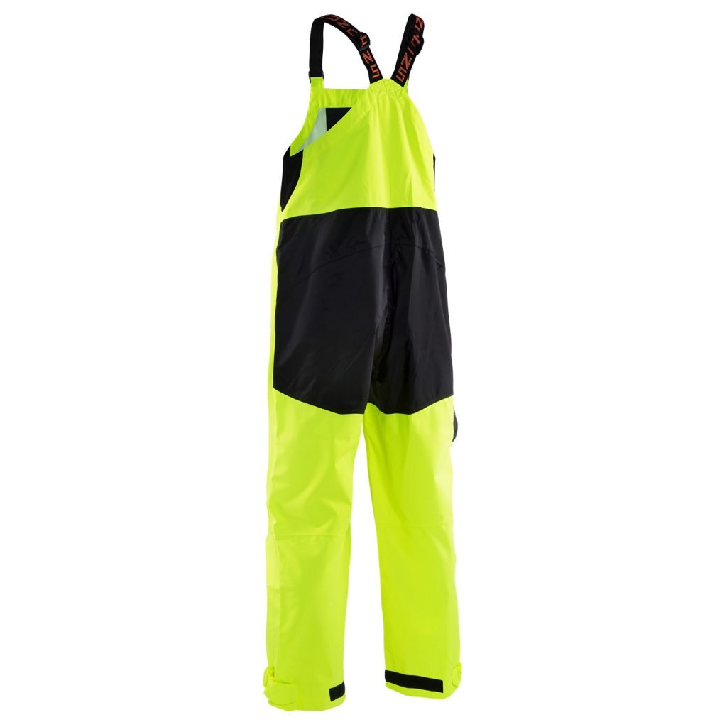 Grunden's Men's Gage Weather Watch Ansi Bib, Hi Vis Yellow, Large by Grundéns
