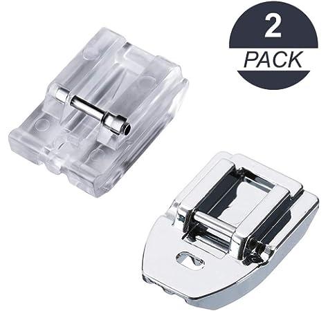 Alfa Prensatelas para cremalleras, accesorio para máquina de coser ...
