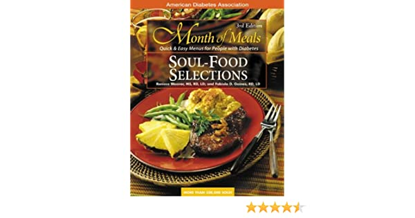 Month of meals soul food roniece weaver 9781580401364 amazon month of meals soul food roniece weaver 9781580401364 amazon books forumfinder Choice Image