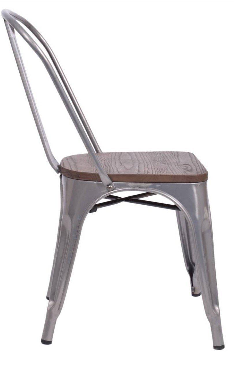 79aefa9e4c99 Amazon.com - Carlisle High Back Metal Dining Chair - Set of 2 - Chairs