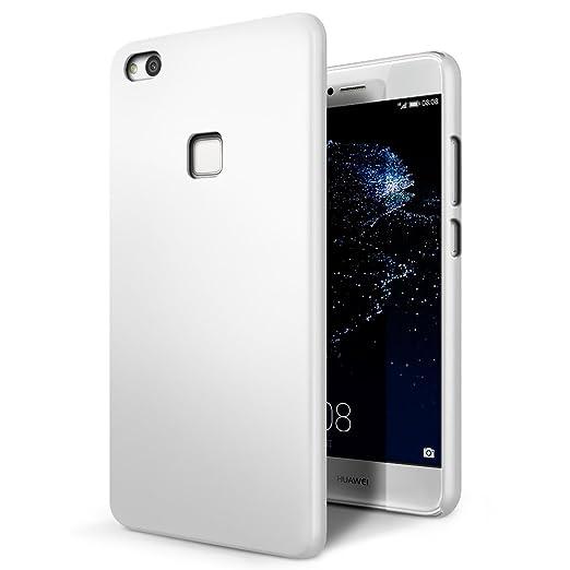 SLEO Funda para Huawei P10 Lite PC Back Cover de Parachoques Duro ...