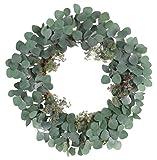 Melrose International 70230 Eucalyptus Wreath