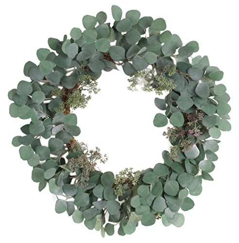 Melrose International 70230 Eucalyptus Wreath by Melrose International