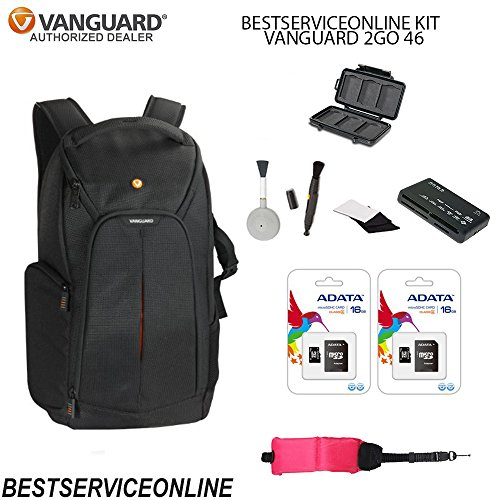Vanguard 2GO KIT Includes: 46 BAG, Universal Memory Card
