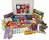 50th Birthday Gift Basket Box - Peace, Love and Happiness in the World - Retro Nostalgic Memories for a 50 Year Old