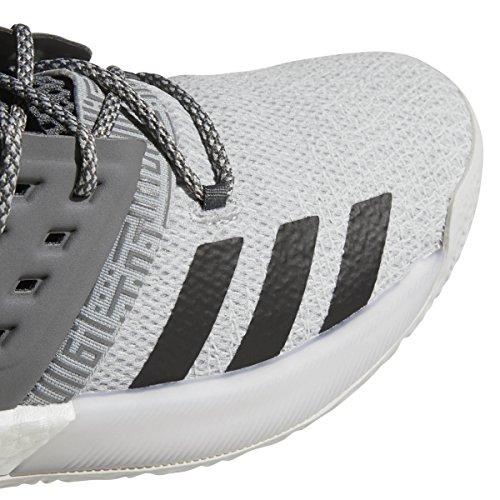 Adidas Hårdnar Vol. 2 Mens Basket Grå Fem Grå Fyra