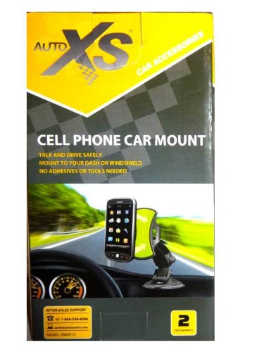 auto-xs-cell-phone-or-gps-car-mount-unique-polymer-surface-stick-peel-renew-360-pivoting