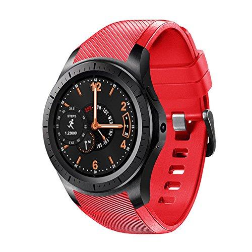 Efanr DM368 redondo Bluetooth reloj inteligente Android 5.1 ...