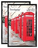MCS 20x30 Inch Trendsetter Poster Frame 2-Pack, Black (65684)