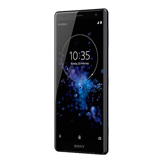 san francisco 5205d c3b4f Amazon.com  Sony Xperia XZ2 (H8296) 6GB   64GB 5.7-inches LTE Dual SIM  Factory Unlocked - International Stock No Warranty (Liquid Black)  Cell  Phones   ...