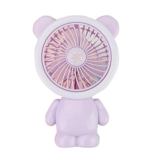 Chinashow Mini Ventilador de Mano - Mesa de Escritorio Personal ...