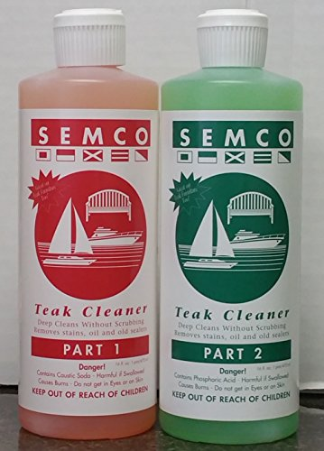 OnlineTeakFurniture Semco 2 Two Part Cleaner (Pint)