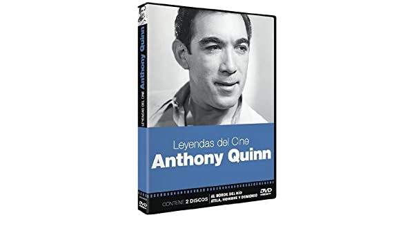 Amazon.com: Anthony Quinn - Leyendas del Cine - Audio: English, Spanish - Regions 2: Movies & TV