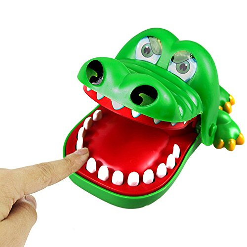 Price comparison product image Game Joke Trick Gadget Novelty Crocodile Mouth Bite Finger Novetly Crocodile Trick Dentist