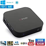X-Direct Wintel Tv Box W8 Intel Z3735F Quad Core Up to 1.83GHz 2GB/32GB Mini PC Dua Boot Win 10 Android 4.4 1080P HD Media Player with Bluetooth 4.0 Wifi
