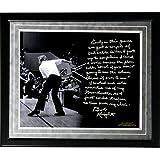 NCAA Indiana Hoosiers Bob Knight Facsimile 'Chair-Throwing' Story Metallic Framed 16x20-Inch Photo