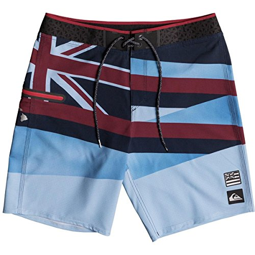 Quiksilver Men's ALA Moana Slash 20 Boardshort, Imperial Blue, - Shops Ala Moana