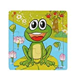 TIFENNY Wooden Frog Jigsaw Kids Children Toys for Education And Learning