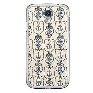 Loud Universe Samsung Galaxy S4 A Nautical 11 Printed Transparent Edge Case - Beige