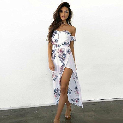 vestidos de mujer,Switchali Mujer Vendimia Impresión floral Sin ...