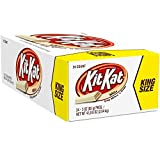 Kit Kat Candy Bar, Crisp Wafers in White Chocolate, 3-Ounce Bars (Pack of 24)