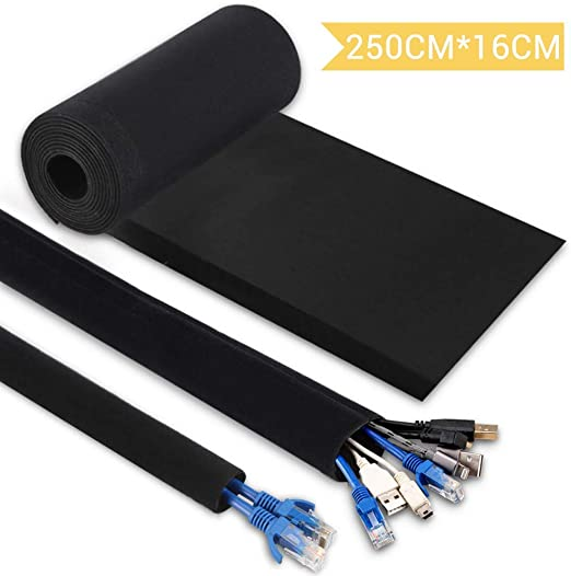250CM Organizador para Cables, Hommie Mangas de Gestión de Cables ...